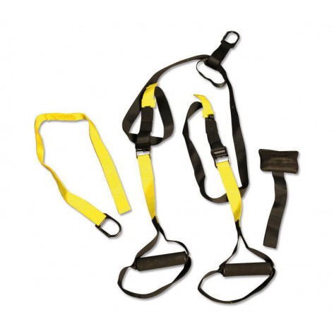 Suspension Training Adjustable Strap Crossfit MMA Bodyweight Gym Exercise System