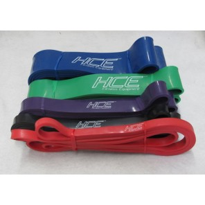 5pcs Strength Band Resistance Band Pack include 5 bands