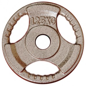 1.25kg Standard Size Cast Iron Weight Plate