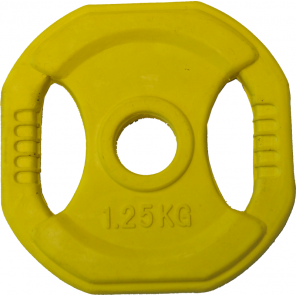 1.25kg Rubber Coated Body Bump Weight Plate