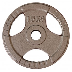 15kg Olympic Size Cast Iron Weight Plate