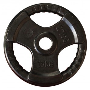 15kg Olympic Size Rubber Coated Weight Plate