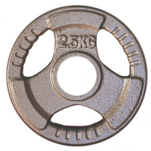 2.5kg Olympic Size Cast Iron Weight Plate