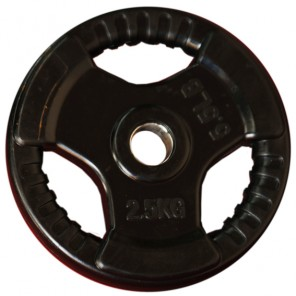 2.5kg Standard Size Rubber Coated Weight Plate