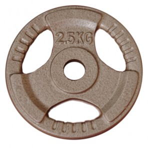 2.5kg Standard Size Cast Iron Weight Plate