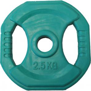 2.5kg Rubber Coated Body Bump Weight Plate