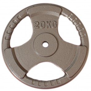 20kg Standard Size Cast Iron Weight Plate