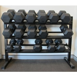 Three Tier Dumbbell Rack