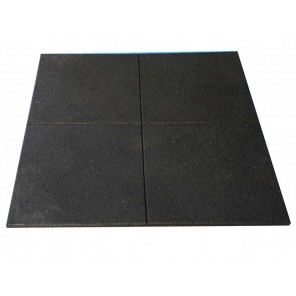 10 x 1M*1M Rubber flooring/Rubber Mat/Rubber Tiles Black
