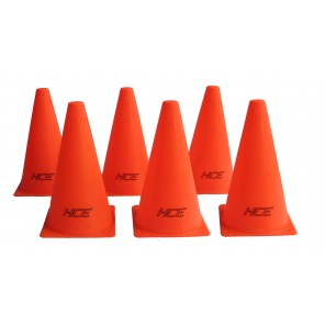 6Pcs 23cm Sports Training Safety Cones