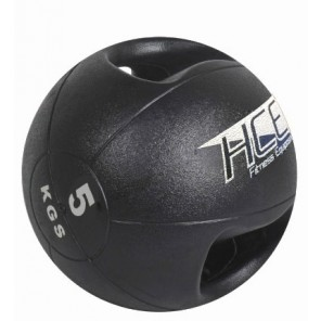 5Kg Double Grip Handles Medicine Ball