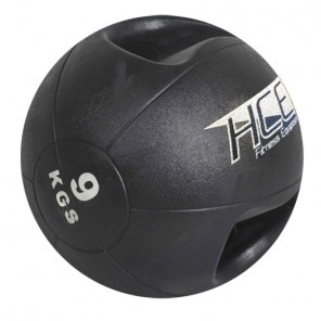 9Kg  Double Grip Handles Medicine Ball