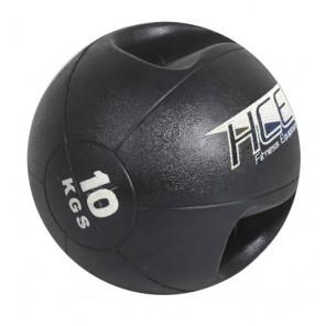 10Kg Double Grip Handles Medicine Ball