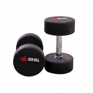 10kg Round Rubber Dumbbell in Pairs