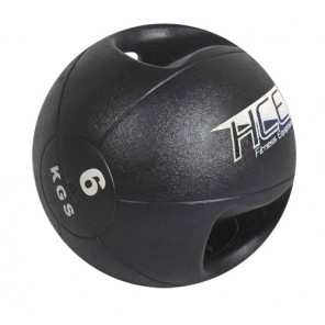 6Kg  Double Grip Handles Medicine Ball