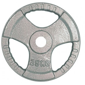 25kg Olympic Size Cast Iron Weight Plate