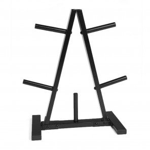 STANDARD GYM WEIGHT PLATES STORAGE RACK TREE