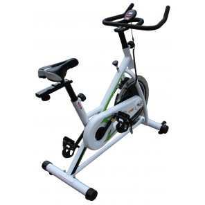 OZ Commercial Spin Flywheel Bike Fully Adjustable For Home Gym Fitness Exercise