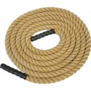 "2"" Thick Fitness Sisal Rope / Power Rope 15M"