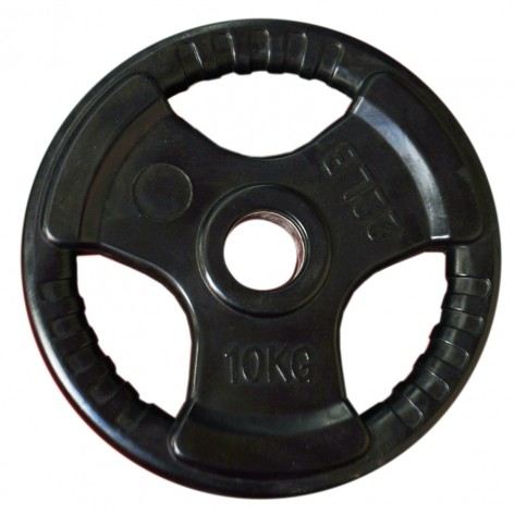 10kg Olympic Size Rubber Coated Weight Plate