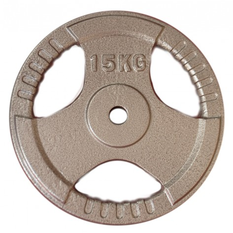 15kg Standard Size Cast Iron Weight Plate