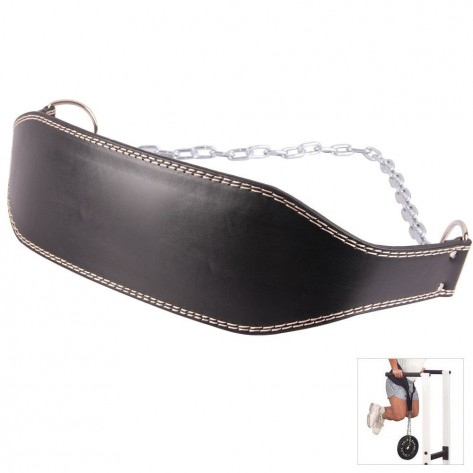 Leather Weights Dipping Belt