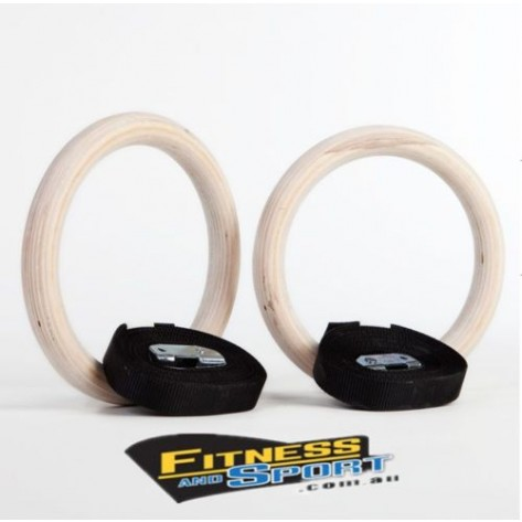 Wooden Gymnastic Rings
