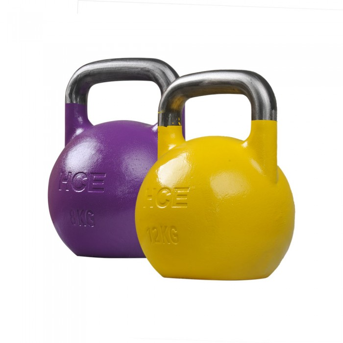 Kettlebell 24kg Professional Competition Grade: 8kg And 12kg Pro Grade/Competition Kettlebell , Kettlebell