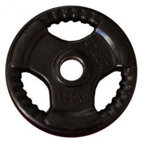 1.25kg Olympic Size Rubber Coated Weight Plate