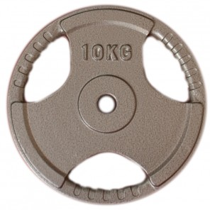10kg Standard Size Cast Iron Weight Plate
