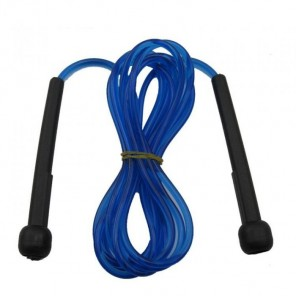 Skipping Rope Jump Rope Fast Speed NEW PVC 3M Blue