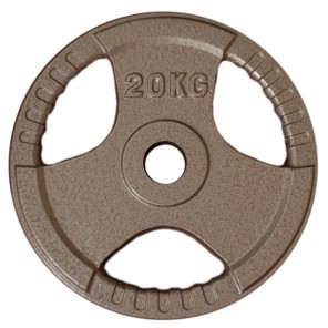 20kg Olympic Size Cast Iron Weight Plate