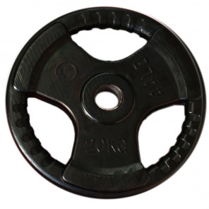 20kg Olympic Size Rubber Coated Weight Plate