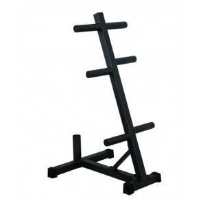 Olympic Weight Plates Tree With Bar Holder 304