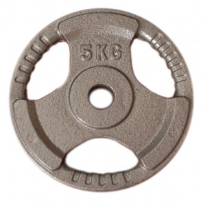 5kg Standard Size Cast Iron Weight Plate