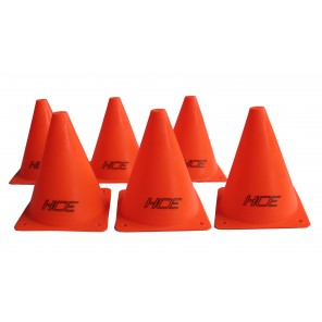 6Pcs 15cm Sports Training Safety Cones