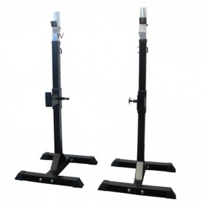 Pair of Portable Squat Rack Barbell Stand