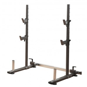 NEW Portable Squat Rack Barbell Stand