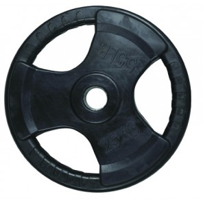 25kg Olympic Size Rubber Coated Weight Plate