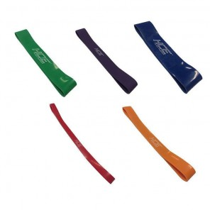 5pcs Heavy Duty Resistance Loop Band Pack include 5 bands